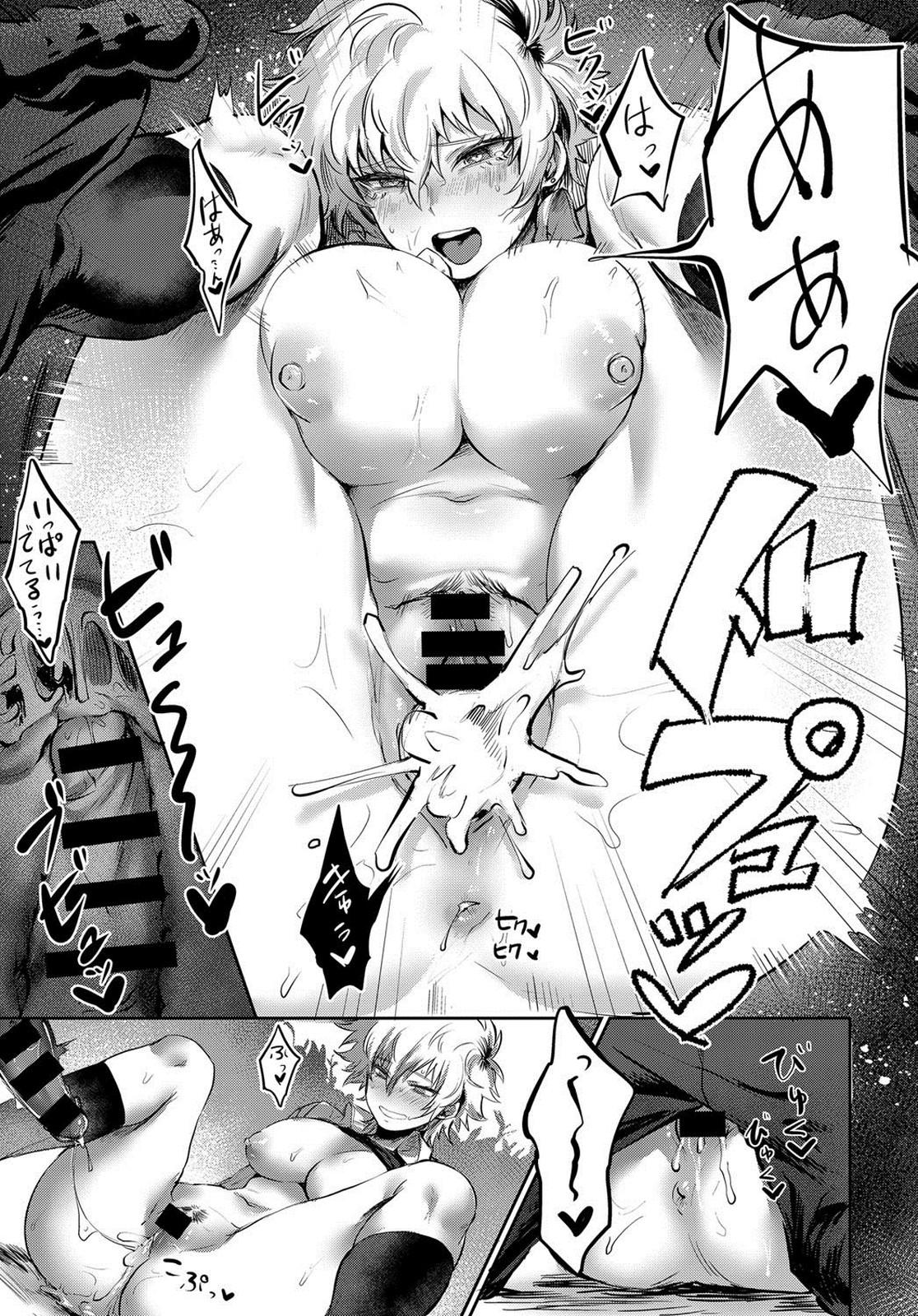 【エロ漫画】ヤンキーたちの肉便器にされている男装娘…旧校舎に呼び出され輪姦されているところを片想い相手に見られてしまうwww【鳥喰ささみ:素直になれないBAD GIRL】