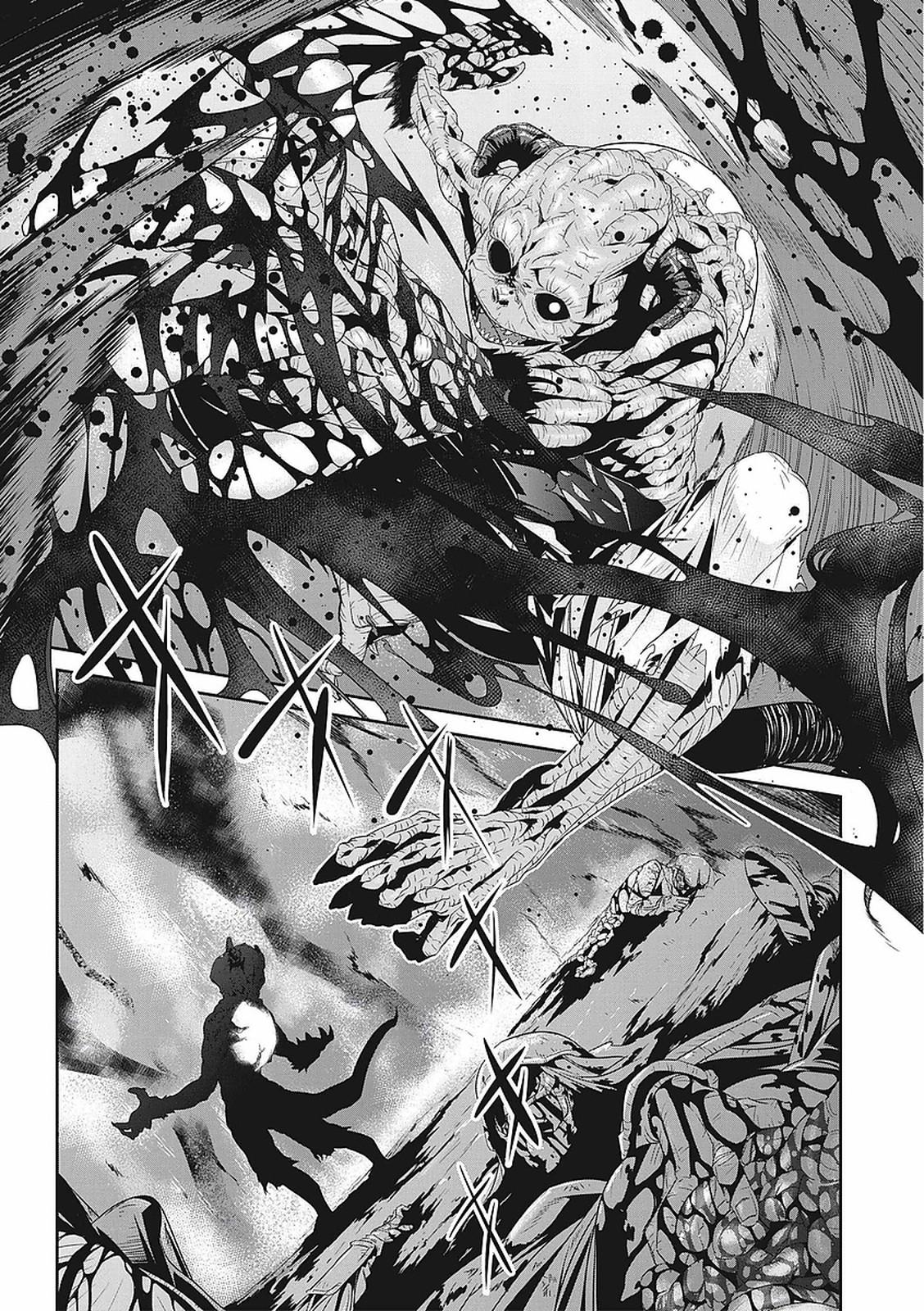 【エロ漫画】(1/2話)ゴブリンに強襲された女たち…四肢を切断され内臓モロ出しな鬼畜拷問で絶命www【朱江士朗:淫玩戯画1】