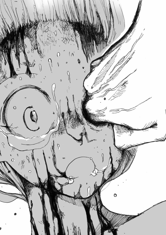 【エロ同人誌】敵にグロテスク過ぎる過激凌辱を受け息も絶え絶えな少女…皮膚を剥かれ肉を抉られてあまりの苦痛に絶叫www【ひめいよる:スク水戦士リョナ漫画 5】