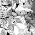 【エロ漫画】準備が整った魔法陣の中央まで進む巨乳王女様…儀式を発動するために皆が見守る中オナニーを始める!【戦闘的越中:第1話 召喚されたA-BOY】